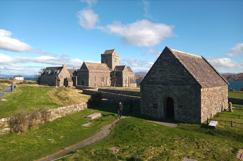 The Abbey of Iona and St Oran's Chapel